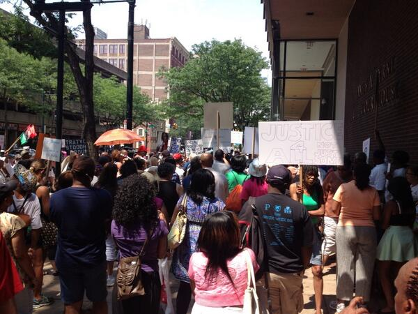 Trayvon Martin rally in Philly