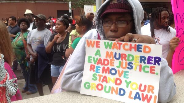 Trayvon Martin rally in Tampa