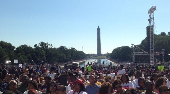 50 years later, we come together because the Dream must march on. MarchOnWashington