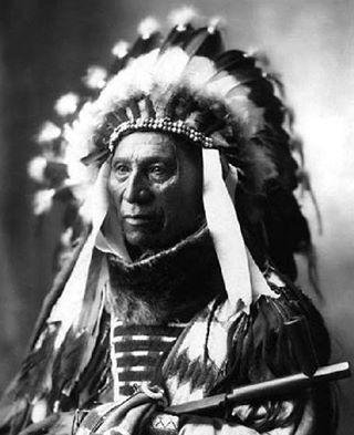 Brulé Lakota Chief Mathó Wayúhi