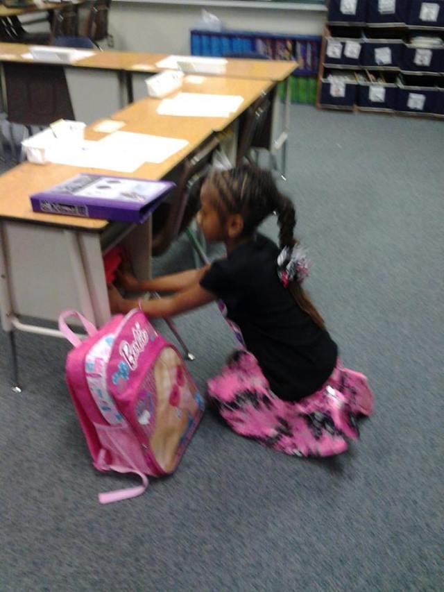 Haley at school