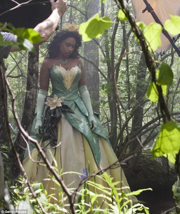 jennifer hudson as princess tiana