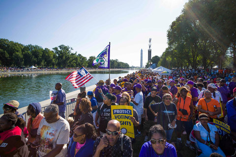 MOW- Scenes from the 50th Anniversary of the March on Washington