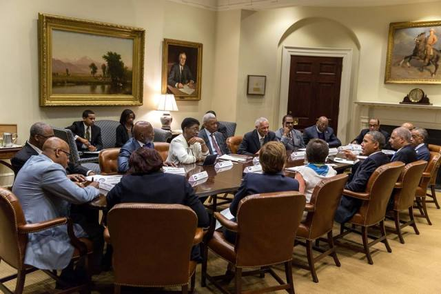 Rev. Sharpton, working with the president on plans for tomorrow's big March on Washington event.