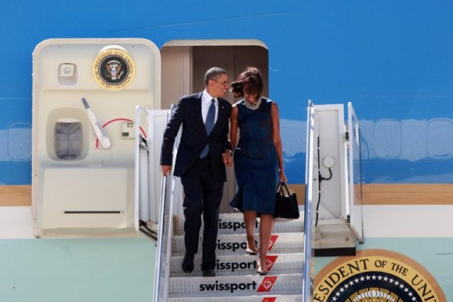 first couple at JFK-1
