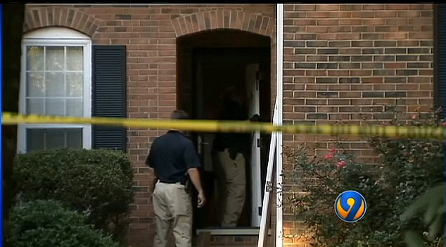 Help- Authorities believe Ferrell knocked on this door looking for help. The homeowner called 911