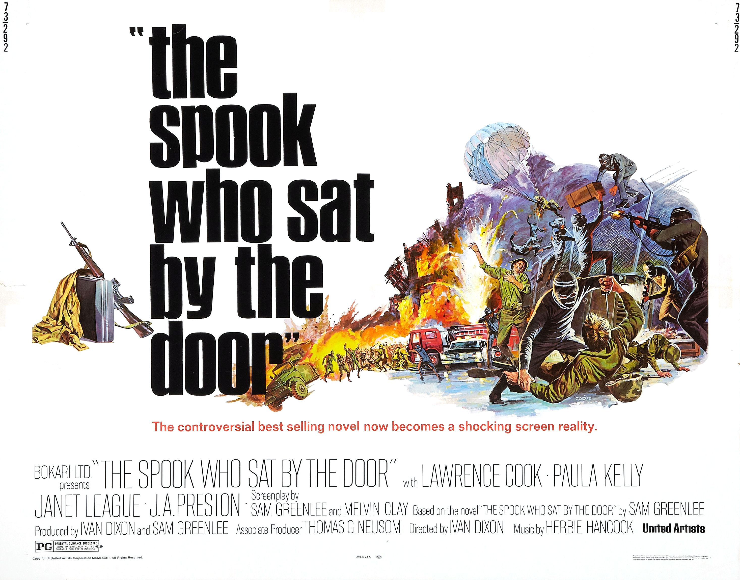 'The spook who sat by the door', 1973: Film About the First Black Man in the C.I.A