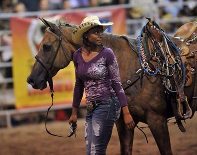 Beautiful Black Women's photo- COWGIRL