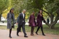 Barack Obama, Michelle Obama, Sasha Obama, Malia Obama