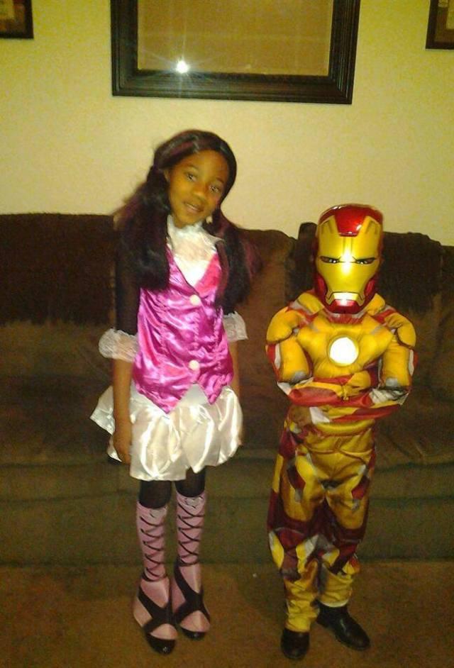 Haley and Jay Halloween1