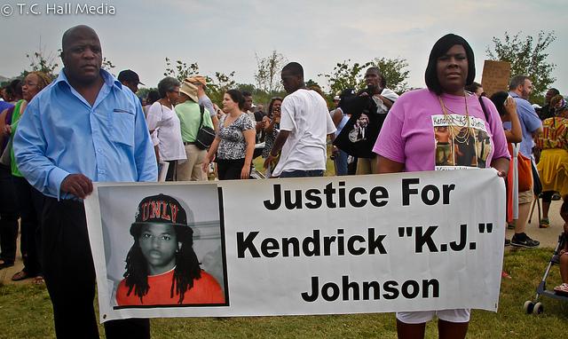 Kendrick Johnson protests2