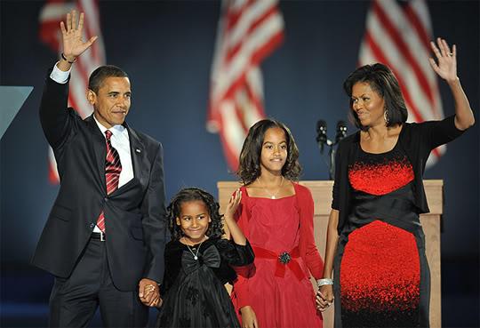 ObamaFamilyElectionNight2008
