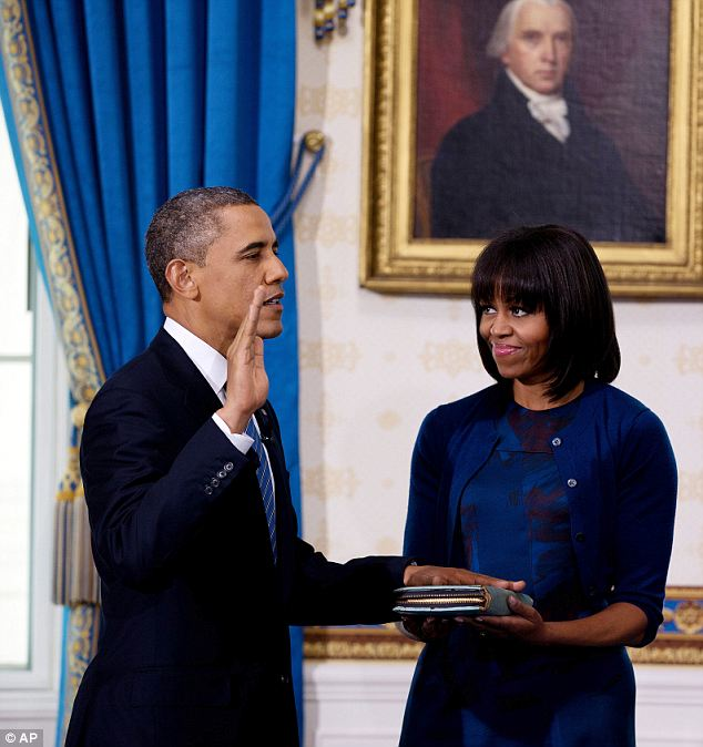 the first family as potus takes oath 2013-2