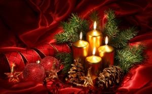 Christmas Candles 44