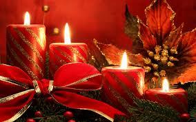 Christmas Candles 45