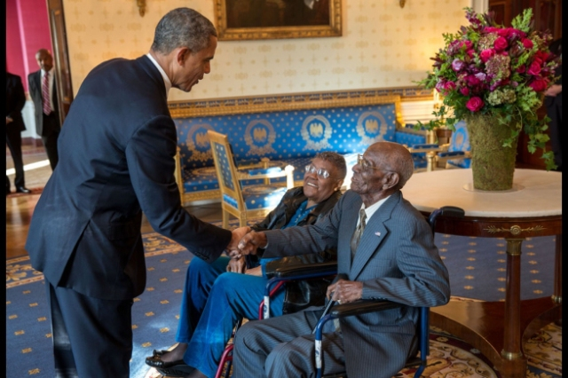 potus and richard overton