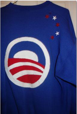 Sweatshirt- Obama