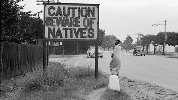Caution- beware of natives