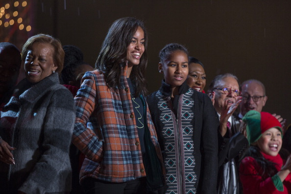President Obama, First Family, Attend National Christmas Tree Lighting