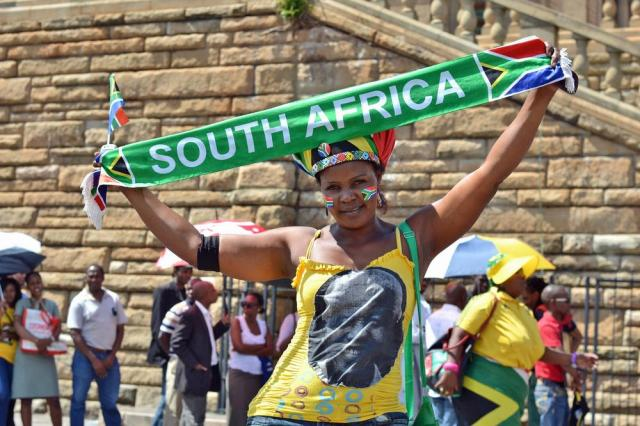 Mandela Lies In State56