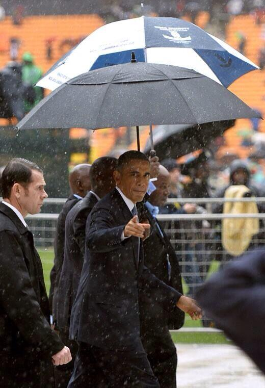Presidential swagger