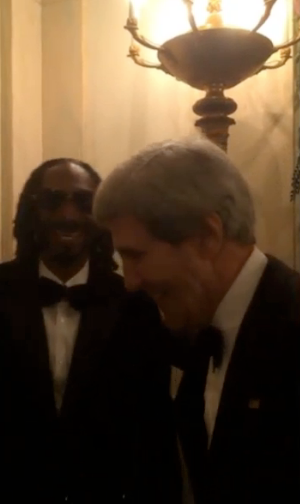 Snoop dog in the WH
