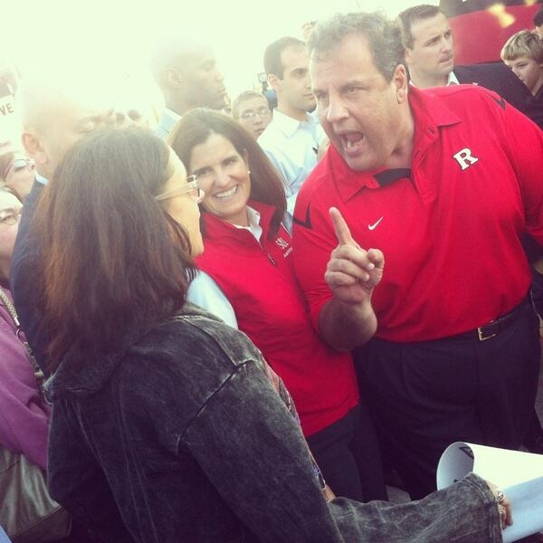 Christie Finger Pointing