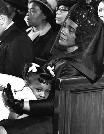 USA. Martin Luther King Funeral
