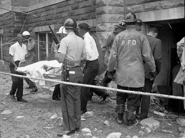 Dr King - Four girls were killed in the bombing of the 16th street Baptist Church, in Birmingham, Ala., on Sept. 15, 1963. One man was convicted in the crime 1977...