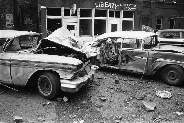 Dr King- Four girls were killed in the bombing of the 16th street Baptist Church, in Birmingham, Ala., on Sept. 15, 1963. One man was convicted in the crime 1977.