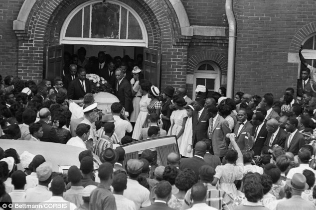 Dr King- Four girls were killed in the bombing of the 16th street Baptist Church, in Birmingham, Ala., on Sept. 15, 1963. One man was convicted in the crime 1977..