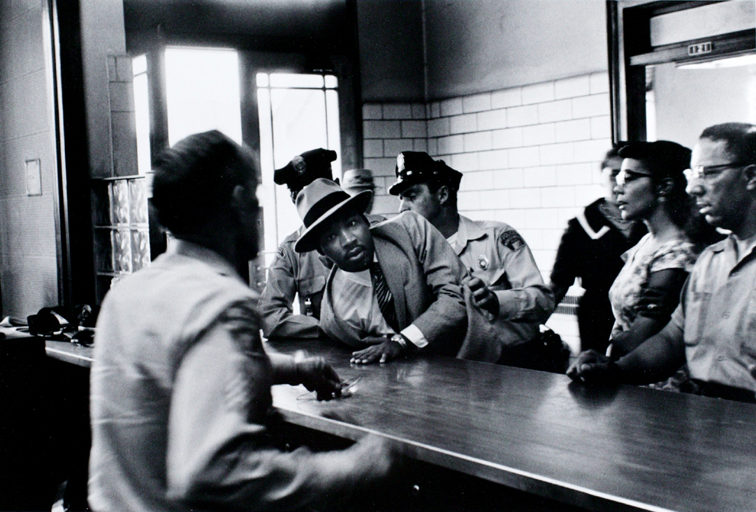 Dr King Martin Luther King Being Arrested By Police
