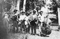 Juneteenth celebration in Eastwoods Park, Austin, 1900 -Austin History Center
