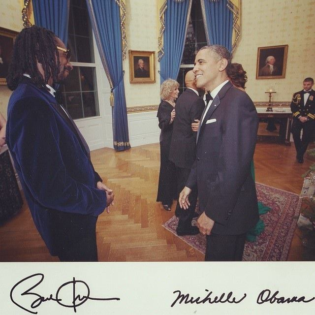 Snoop Dog and the President