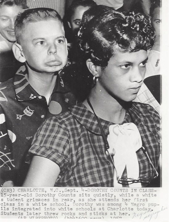 Dorothy Counts School Integration 1957