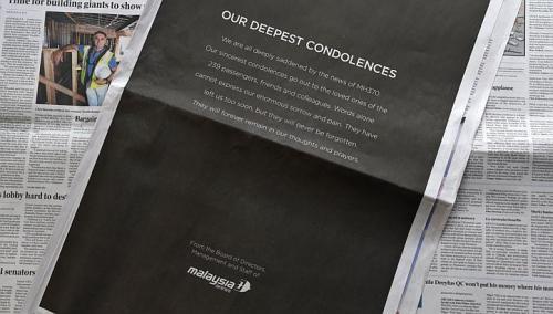 MAS- Our Deepest Condolences