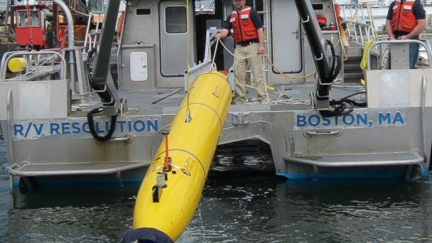 The Bluefin drone