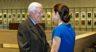 Jimmy Carter, Luci Baines Johnson