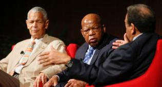 Julian Bond, John Lewis, Andrew Young