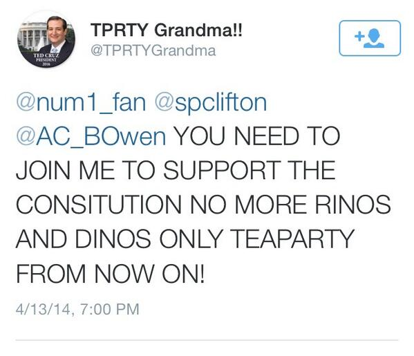 Tea Party can't spell Constitution