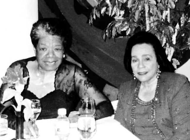 angelou and coretta scott king