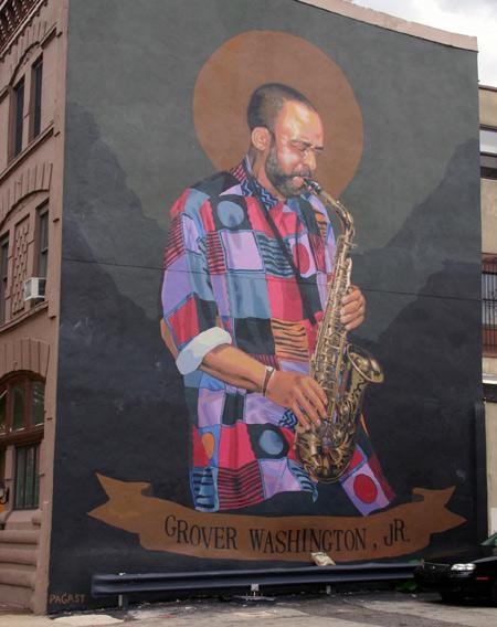 Wednesday open thread grover washington jr week for Dr j mural philadelphia