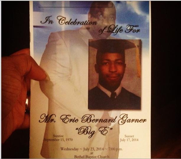 A celebration of Life for Eric Garner