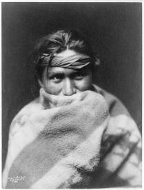 Edward S. Curtis Collection- A son of the desert