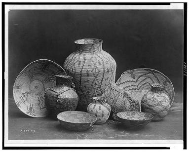 Edward S. Curtis Collection- Apache still life A