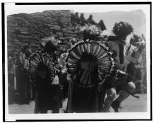 Edward S. Curtis Collection- Buffalo Dancers