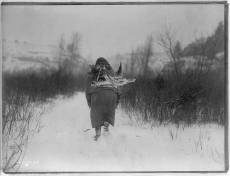 Edward S. Curtis Collection-Going to camp