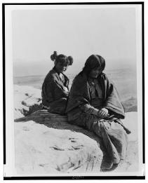 Edward S. Curtis Collection-Maiden and Matron