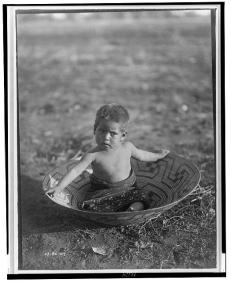 Edward S. Curtis Collection- Maricopa child