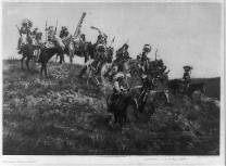 Edward S. Curtis Collection- Oglala war party
